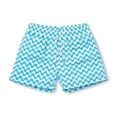 Copacabana Sports Swim Shorts in Navy Blue for Men from Frescobol Carioca - Rio de Janeiro Mens Swim Shorts, Sport Shorts, Aqua Blue, Copacabana Beach, Luxury Swimwear, Short Legs, Man Swimming, Swim Trunks, Patterned Shorts