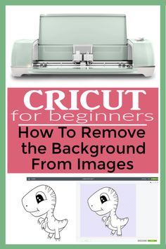 How to Remove Background From Uploaded Images? Easy Cricut Beginner tutorial to remove the white background from images in Cricut Design Space. Cricut Air 2, Cricut Help, Silhouette Cameo, Silhouette Projects, Silhouette School, Silhouette Portrait, Cricut Craft Room, Craft Rooms, Thing 1