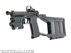 kel-tec-pmr-30. Full auto .22 Magnum prototype with videos.