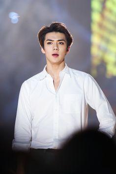 25th High1 Seoul Music Awards 160114 : Sehun (4/7)