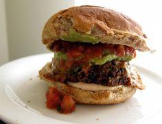 Southwestern Black Bean Burger recipe
