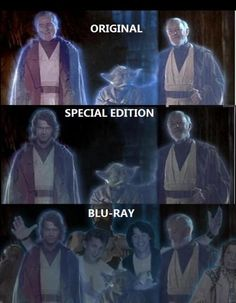Star Wars through the years