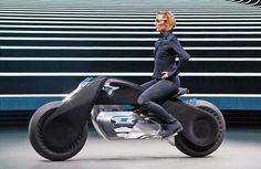 BMW's Futuristic Artificial Intelligence Motorcycle Balances on Its Own