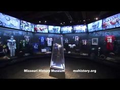 Gridiron Glory: The Best of the Pro Football Hall of Fame is on display at the Missouri History Museum.