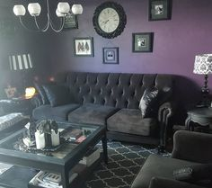 """""""Hiding inside because I'm pale and cant find sunscreen... #gothdecor #gothichome #gothic…"""""""