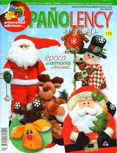 Blog de Santa clauss: Revistas navideñas gratis 2014 Christmas Books, Christmas 2016, Christmas Stockings, Christmas Crafts, Christmas Decorations, Xmas, Christmas Ornaments, Cross Stitch Magazines, Cross Stitch Books