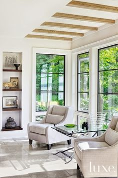 Interiors: Luxury On The Lake...