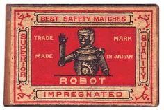 Robots! Vintage packaging via PopKulture. More on...