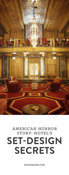 The set designer of American Horror Story: Hotel sat down with us to chat how she put it all together