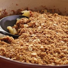 Mom's Apple Crisp Pamper Chef *Make in microwave- it works and quick