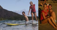 Nick Vujicic surfing with Bethany Hamilton! No limits!