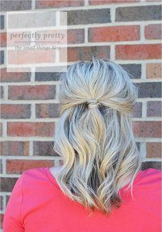 Perfectly Pretty Hair Tutorial
