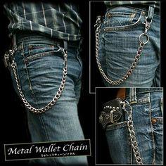 WILD HEARTS   Rakuten Global Market: Wallet chain WILD HEARTS Biker German Silver Gothic Jeans wallet