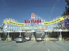 Six Flags Amusement Park in Santa Clarita CA