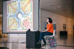 """Realización de las fotografías del evento """"Los viernes con....Catalina Estrada"""" el 27 de mayo 2016 en el Caixa Forum de Barcelona. Foto realizada por Kinoki studio"""