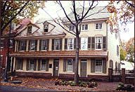 Indian King Tavern Museum, Haddonfield, New Jersey was a Revolutionary War meeting place for New Jersey's rebel legislature.