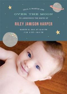 Over the Moon by Amber Barkley for Minted.