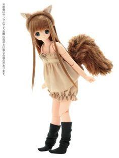 Azone-Ex-Cute-squirrel-Chiika-Komorebi-Mori-no-Doubutsu-Tachi-1-6-doll-only