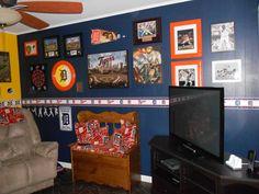 boys baseball room ideas | year old Detroit Tigers Fan, My son ...