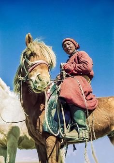 Steppe rider in Mongolia #MinoritiesCulture