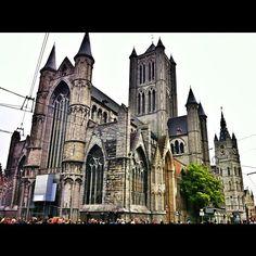 Iglesia de San Nicolás, Gante.