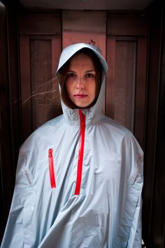 Cleverhood lightweight rain cape from Rhode Island. Designed for people in livable cities worldwide. Bike-ready and made in the US.