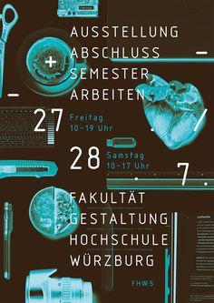 Ausstellung der Fakultät Gestaltung der Hochschule Würzburg | Slanted - Typo Weblog und Magazin