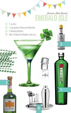 Cocktail Hour: Emerald Isle