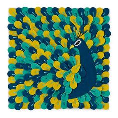 Fine Feathers Wall Art from Land of Nod $35