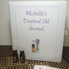 Works for all sorts of things like recipes, coupons, membership cards, etc. On A Wing And A Prayer: DIY Essential Oil Journal #Organizing