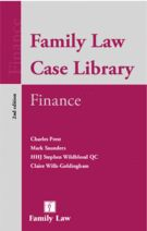 Family Law Case Library (Finance)  From periodical payments to property adjustment orders, Family Law Case Library: Finance allows you to find quickly the relevant authority on all aspects of ancillary relief.