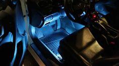 iJDMTOY's new 4-pc sound active LED interior strip lighting kit ---- flashes to the beat of your music!  #iJDMTOY #Acura #Honda #Nissan #Infiniti #Toyota #Lexus #Scion #cars #Dodge #Chevy #Cadillac #Ford #Audi #Mercedes #BMW #Subaru #Mitsubishi #install