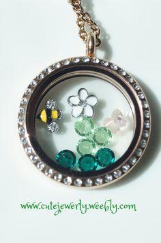 seasonal floating south hill designs lockets on pinterest