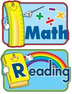 MATH AND READING