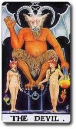 15 Старший аркан - Дьявол