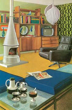 Ladybird By Design, The Story of Furniture, Robert Ayton (c) Ladybird Books Ltd, 1971