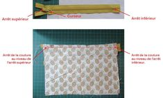 DIY Couture : apprenez à coudre une pochette avec une fermeture éclair Diy Couture, Easy Sewing Projects, Coupons, Tuto Couture, Sewing Tips, Sewing Lessons, Coupon