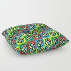 Our Floor Pillows are the cushiest cushions ever crafted. Made with 100% polyester for a soft touch, and overstuffed with firm-yet-plush fill so they never lose shape. Features a bar tack center stitch for an aesthetic dimple - and to prevent rips. Spot clean with warm water and mild detergent.