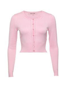 Maggie Long Sleeve Cardi | Parfait Pink | Cardigan