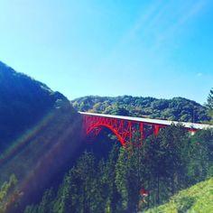 おろちループ  #島根 #奥出雲 #出雲 #ループ #橋 #日本一 #国道 #314 #japan #shimane #izumo #Loop #Bridge #Orochi by fxdb2013