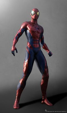 alternate designs for the characters that they obviously didn't use. The Amazing Spider-man 2