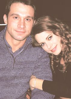 Dillon Casey and Lyndsy Fonseca from Nikita.  Wonder if they are a real couple, they look so cute together!