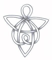 loving celtic angel more tattoo ideas celtic symbols welsh tattoo ...