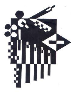 Geometric Notan