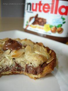 Tartelettes crumble au nutella