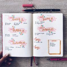 """2,020 Likes, 17 Comments - Bullet Journal & Studygram (@mylittlejournalblog) on Instagram: """"Planning time✍"""""""