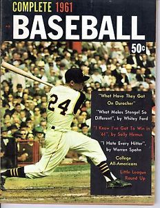 baseball magazines 1961 | 1961-Complete-Baseball-magazine-Dick-Groat-Pittsburgh-Pirates-Warren ...