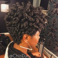 TAPERED CURLS