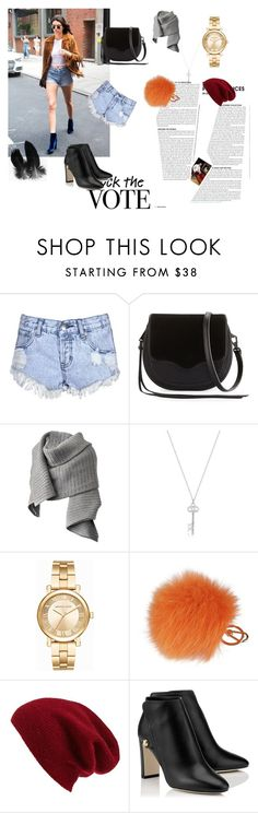 """""""Women's fashion"""" by room140701 ❤ liked on Polyvore featuring Glamorous, Rebecca Minkoff, Acne Studios, Michael Kors, Furla and Halogen"""
