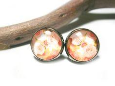 Ohrstecker - Rosenblüten Ohrstecker Ohrringe Rosen - ein Designerstück von DeineSchmuckFreundin bei DaWanda